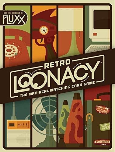 Looney Labs - Retro Loonacy, Gioco di Carte [Lingua Inglese]