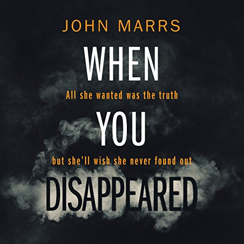 When You Disappeared audiobook cover art