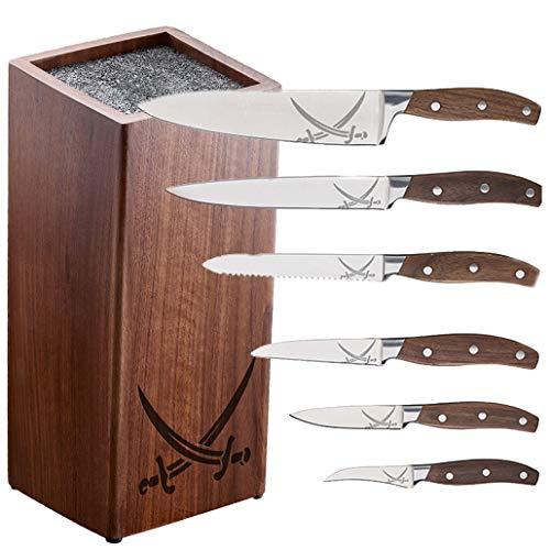 Rösle 13565 RÖSLE Sansibar 6-teiliges Messer-Set + Messerblock