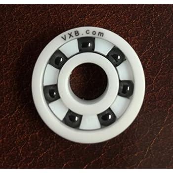 1Pcs 696 6X15X5mm Full Ceramic Ball Bearing White High Precision for Motor U9T0