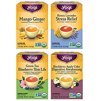 Yogi Tea - Iced Teas - 4 Pack 64 Tea Bags
