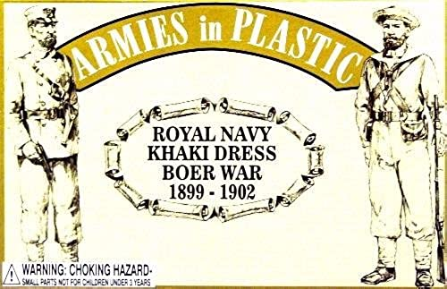 hasta un 70% de descuento Armies in Plastic 5514 RN RN RN Khaki Dress Boer War 1899-1902 1 32 54mm Figures by Armies in Plastic  venta mundialmente famosa en línea