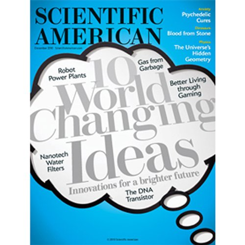 Scientific American, December, 2010 audiobook cover art