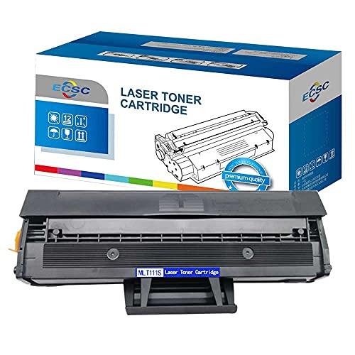 ECSC Compatibile Toner Cartuccia Sostituzione per Samsung Xpress SL-M2020 SL-M2020W SL-M2022 SL-M2022W SL-M2026 SL-M2026W SL-M2070 SL-M2070F SL-M2070FW SL-M2070W MLT-D111S (Nero)