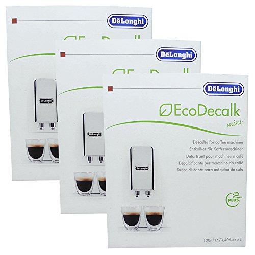 3er Pack DeLonghi Eco Decalk Min...