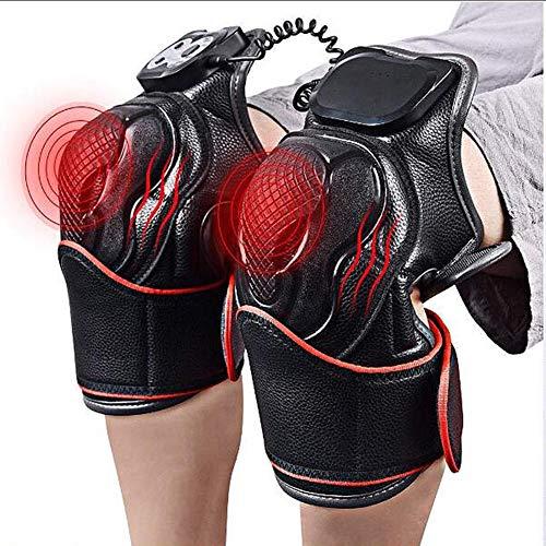 Balanka Einstellbare Heizung Kniepolster, Wärmetherapie Kniegelenk Heizungsunterstützung Vibration Knie Arthritis Schmerzlinderung Rheumatism Knieschützer Massage