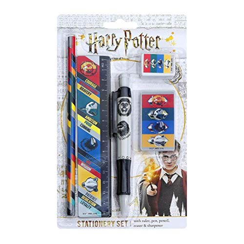 Harry Potter Kit de papeterie (5 pieces) - (House Traits)