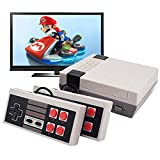 YunJey Classic Handheld Game Console, Built-in 620 Classic Games and 2X4 Nes Classic Button Controller Av Output Video Games