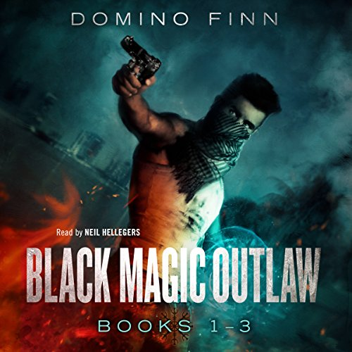 Black Magic Outlaw, Books 1-3 audiobook cover art