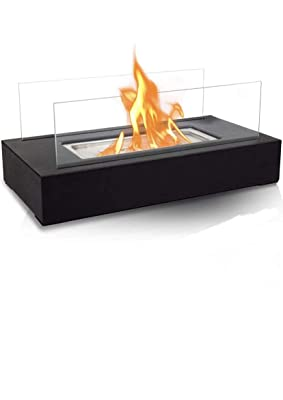 BRIAN & DANY Tabletop Portable Ethanol Fireplace