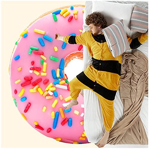 BATTILO HOME Donut Blanket for Adult and Kids, Burritos Tortilla Blanket 270 GSM Flannel Blanket,...