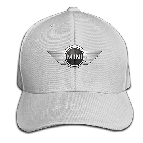 BACADI Unisex Mini Cooper Logo Adjustable Peaked Baseball Caps Hats Duck Tongue Hat