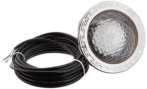 Pentair 78448100 Amerlite Underwater Incandescent Pool Light with Stainless Steel Face Ring, 120 Volt, 50 Foot Cord, 400 Watt