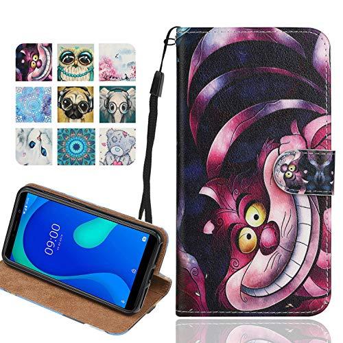 Langlee Kompatibel mit Xiaomi Poco F2 Pro Hülle, PU Ledercase Flip Schutzhülle Tasche Magnetverschluss Handyhülle Standfunktion (Muster C-10)