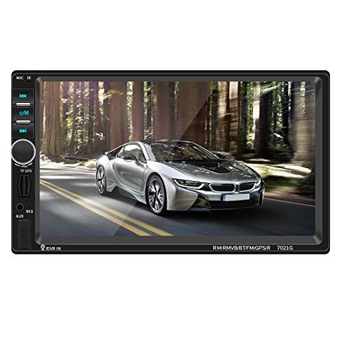 Viviance ZHVIVY 7 inch 7021G 2 DIN autoradio stereo auto MP3 MP5 speler GPS Bluetooth handsfree FM Universal