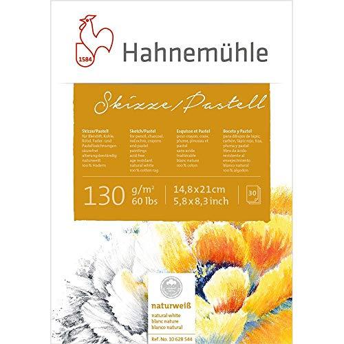 Skizze/Pastell-Block 100{c0e413e21f3e728af836ead768689147d244638e82c3c05ab3ea7fb7f5b1ce86} Hadern 130g/m², DIN A5, 30Blatt