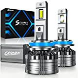 Fahren Scourge H11/H9/H8 LED Headlight Bulbs, 100W 16,000LM 500% Brighter LED Headlights Conversion Kit 6500K Cool White IP68 Waterproof, 50,000 Hour Lifespan, Pack of 2