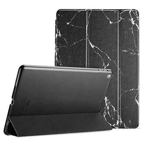 """ProCase Funda 10,5"""" iPad Pro 2017/iPad Air 2019, Estuche Inteligente Ultra Delgada Ligera con Soporte Reverso Translúcido Esmerilado para iPad Air 3.ª Generación/iPad Pro 10.5 Pulgadas -Mármol Negro"""