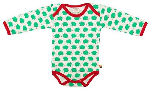 loud + proud 202, Baby Body unisex, Verde (verde ve), 62/68 EU