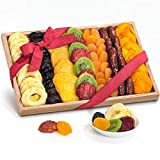 Simply Dried Fruit Gift Tray Basket Arrangement Nut Free for Holiday Birthday Healthy Snack Business...