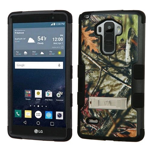 MyBat TUFF Hybrid Cover for LG G Stylo/G Vista 2 - Oak Leaves-Hunting Camouflage Collection/Black