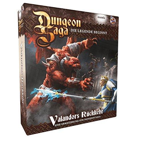 Heidelberger Spieleverlag Dungeon Saga - Valandors Rückkehr ? Erweiterung DEUTSCH
