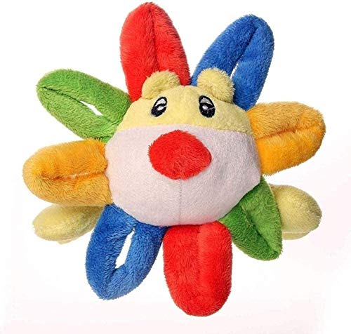 JZLMF Peluche animal doméstico Navidad caniche perro juguete lindo peluche SHANWEILU