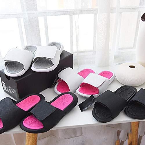 QFYD FDEYL Zapatillas diabéticas para Hombre,Zapatos Viejos,Zapatillas Deportivas de Velcro, Sandalias de Ocio al Aire Libre-Oro Negro_38,Zapatillas diabéticas para Hombre