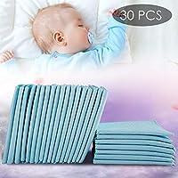 """Almohadilla Para Cambiar Pañales 30 Piezas - Pañal Pañal Recién Nacido Impermeable (17.72 12.99in """") - Almohadilla Para Cambiar Pañales Impermeable Pañal Desechable Para Bebés"""