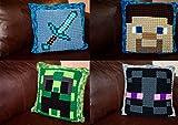 Crochet MineCraft Bobble Pillow