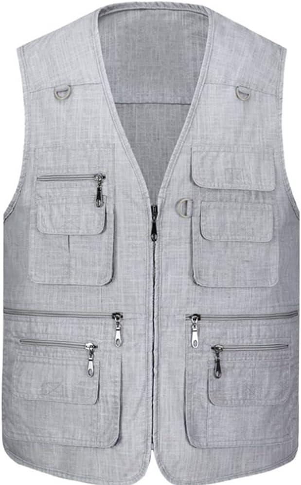 Fishing Vests for Men Waistcoats Men's Mult Challenge the lowest Max 67% OFF price of Japan ☆ Vest