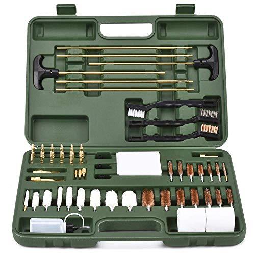 BROWNTC Gun Cleaning Kit Universal Supplies Hunting Rifle Pistol Shotgun Cleaning Kit