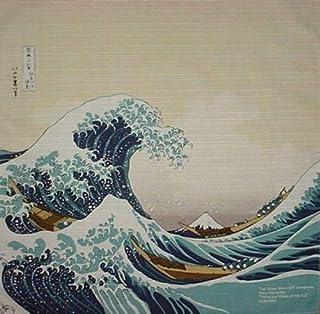"""""""Furoshiki Hokusai""""Die Welle Motiv des Japan"""