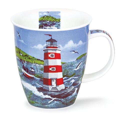 Dunoon NE-LIGH-WH Nevis Tasse Lighthouses - Leuchtturm mit weßer Türe.