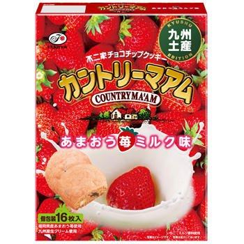 【九州限定】カントリーマアム(あまおう苺ミルク味)