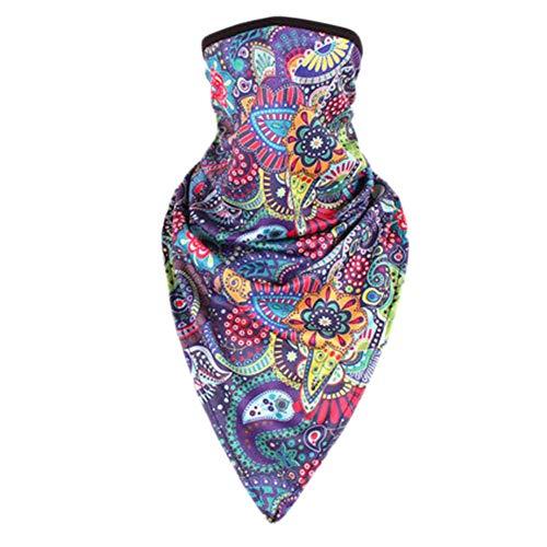 Crème solaire bandanas foulard masque extérieur serre-tête serre-tête serre-tête-A26