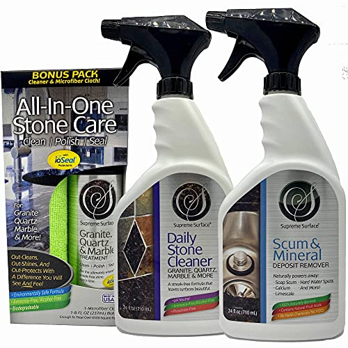 Supreme Surface Daily Stone Cleaner, Granite...