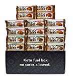 Keto Wise Fat Bombs - Low Carb (1-2g Net), No Added Sugar - Mission Nutrition Variety Box (16 Count)