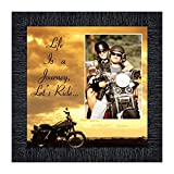 Crossroads Home Décor Motorcycle, Harley Davidson Picture Frame, Lets Ride Sky, 9750CH