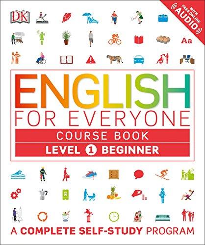 Imagem representativa de English for Everyone: Level 1: Beginner, Course Book: A Complete Self-Study Program