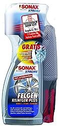 SONAX XTREME Felgenreiniger PLUS (750ml) +SONAX Felgenbürste- effiziente Reinigung aller Leichtmetall- & Stahlfelgen sowie lackierte, verchromte & polierte Felgen | Art-Nr.02309410