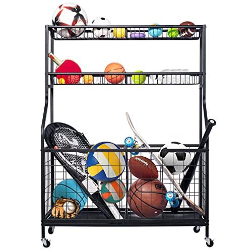 Garage Sports Equipment Organize...