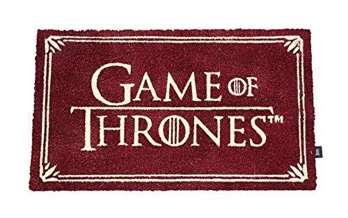 JUEGO DE TRONOS Felpudo Rectangular Logo Doormat Game