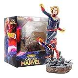 Figura de acción Hombre de Hierro Spider Man Thanos Deadpool Danvers PVC Estatua Figura de acción Juguetes (Color : 22cm with Box)