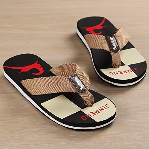 SGZBY Chanclas Sandalias Y Zapatillas De Playa Antideslizantes Zapatillas De Moda Zapatillas De Hombre Verano