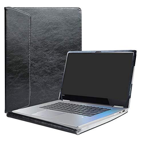 "Alapmk Protective Case Cover for 15.6"" Lenovo Yoga 730 15 730-15IKB 730-15IWL/CHROMEBOOK C340 C340-15/Yoga Chromebook C630 Laptop(Note:Not fit Yoga 730 13/Yoga 720/Yoga C630 WOS/ideapad C340),Black"