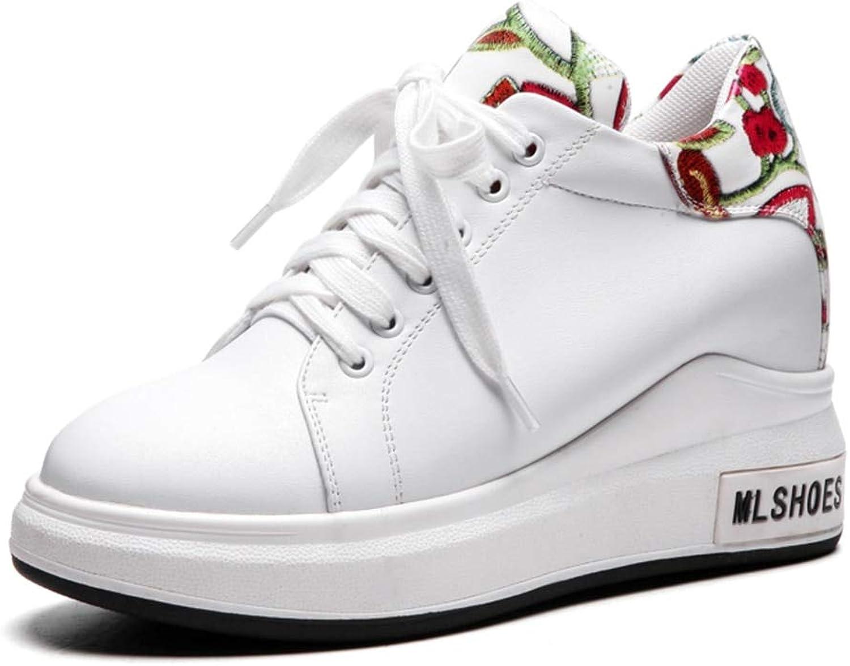HOESCZS Marke Große Größe 31-43 31-43 31-43 Mode Schwarz Weiß Lace Up Frau Vulcanize Schuhe Freizeit Plattform Lässige Turnschuhe Schuhe,  383049