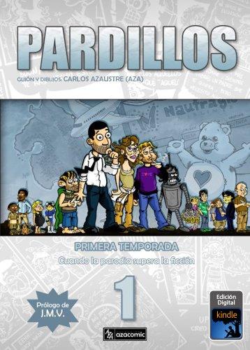 Portada del libro Pardillos  de Carlos Azaustre