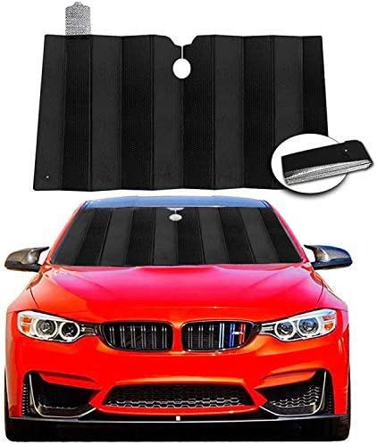 Windshield Sun Shade Visor Foldable Car Sunshade Reflect and Protect Your Vehicle from UV Rays product image