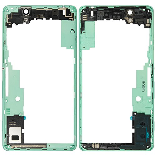 Original Sony Mainframe Middle Cover in green / grün für Sony Xperia C4, C4 Dual (Mittel Cover, Gehäuse, Rahmen) - A/402-59160-0003